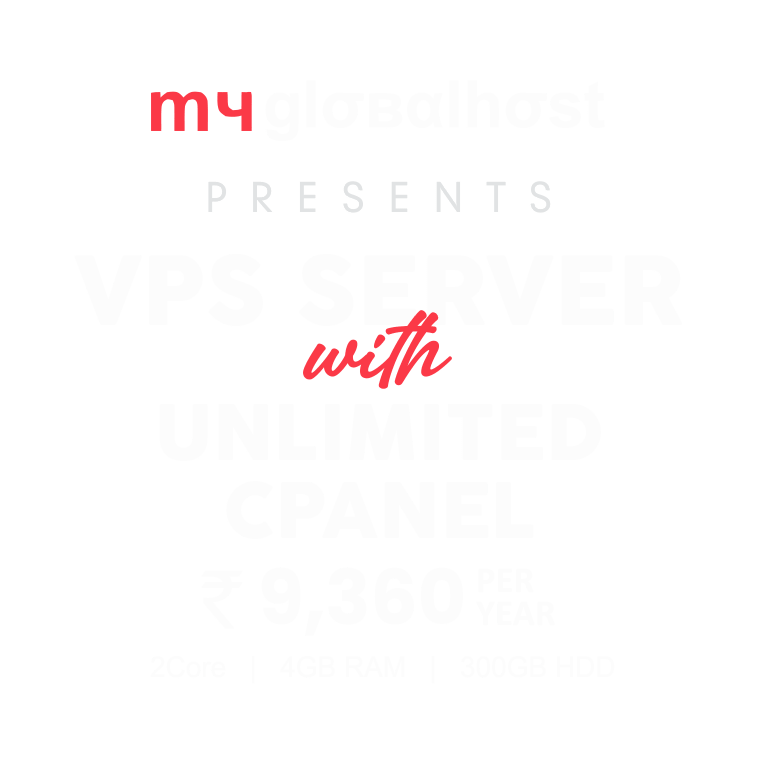VPS Latest Offer - myglobalHOST